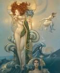 Живопись | Michael Parkes | Venus