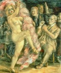 Живопись | Reginald Marsh | Down at Jim Kelly's, 1936