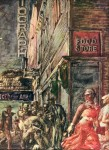 Живопись | Reginald Marsh | Food Store (Death of Dillinger), 1938
