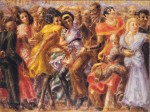 Живопись | Reginald Marsh | Harlem, Tuesday Night at the Savoy, 1932