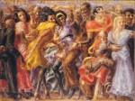 Живопись | Реджинальд Марш | Harlem, Tuesday Night at the Savoy, 1932