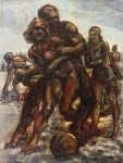 Живопись | Reginald Marsh | Men an Women at Play Coney Island