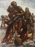 Живопись | Реджинальд Марш | Men an Women at Play Coney Island