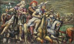Живопись | Reginald Marsh | Wooden Horses, 1936