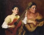 Живопись | Роберт Генри | Blind Singers, 1912