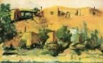 Живопись | Robert Henri | Indian Village, 1917