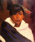 Живопись | Роберт Генри | Ricardo, Indian of San Ildefonso, 1916