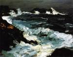 Живопись | Robert Henri | Rough Seas near Lobster Point, 1903