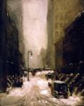 Живопись | Robert Henri | Snow in New York, 1902