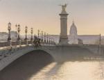 Живопись | Thierry Duval | Contre-jour sur le Pont Alexandre III