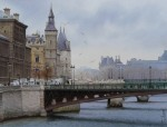 Живопись | Thierry Duval | Un hiver à Paris
