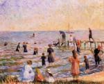 Живопись | Уильям Джеймс Глакенс | Bathing at Bellport, Long Island, 1912