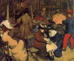 Живопись | Уильям Джеймс Глакенс | Figures in a Park, Paris, 1895