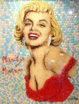Творчество | Christiam Ramos | Candy Art | Marilyn Monroe