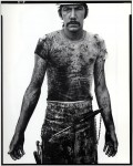 Фотография | Richard Avedon | In The American West | Blue Cloud Wright, slaughterhouse worker. Omaha, Nebraska, 1979