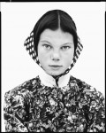 Фотография | Richard Avedon | In The American West | Freida Kleinsasser, thirteen-year-old, Hutterite colony, Harlowton, Montana, June 23, 1983