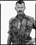 Фотография | Richard Avedon | In The American West | James Lykins, oil field worker, Rawson, North Dakota, August 17, 1982