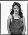 Фотография | Richard Avedon | In The American West | Sandra Bennett, twelve year old, Rocky Ford, Colorado, August 23, 1980