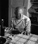 Фотография | Robert Doisneau | Les pains de Picasso, Vallauris 1952