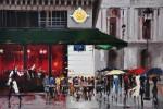 Живопись | Кэл Гаджум | Café de la Paix