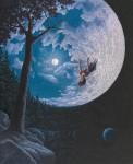 Живопись | Роберт Гонсалвес | Over the Moon