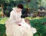 Живопись | Уильям Блэр Брюс | Mother and Child (Giverny), 1887