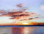 Живопись | Уильям Блэр Брюс | Sunset, 1900-06