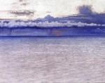 Живопись | Уильям Блэр Брюс | Sunset in Clouds, 1902