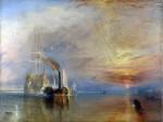 Живопись | Уильям Тернер | Последний рейс корабля «Отважный», 1839
