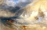 Живопись | Уильям Тернер | Long Ship's Lighthouse, Land's End, 1834-35