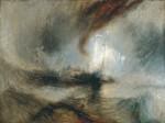 Живопись | Уильям Тернер | Snow Storm: Steam-Boat off a Harbour's Mouth, 1842