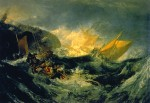 Живопись | Уильям Тернер | The shipwreck of the Minotaur