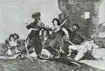 Живопись | Франсиско Гойя | Бедствия войны | Нет больше времени