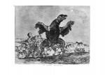 Живопись | Франсиско Гойя | Бедствия войны | Плотоядный стервятник
