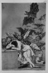 Живопись | Франсиско Гойя | Капричос | Сон разума рождает чудовищ