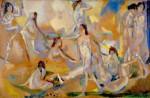 Живопись | Arthur B. Davies | Air, Light, and Wave, 1914-17