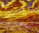 Живопись | Emil Nolde | Autumn Sea VII