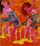 Живопись | Emil Nolde | Candle Dancers, 1912