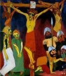 Живопись | Emil Nolde | Crucifixion