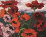 Живопись | Emil Nolde | Large Poppies, 1942
