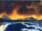 Живопись | Emil Nolde | Stormy Sea