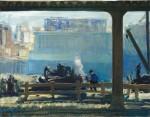 Живопись | George Bellows | Blue Morning, 1909