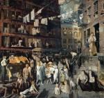 Живопись | George Bellows | Cliff Dwellers, 1913