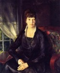 Живопись | George Bellows | Emma at the Window, 1920