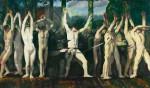 Живопись | George Bellows | The Barricade, 1918