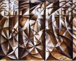 Живопись | Giacomo Balla | Velocity Of Cars And Light, 1913