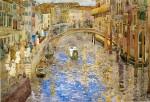 Живопись | Морис Брэзил Прендергаст | Venetian Canal Scene, 1898-99