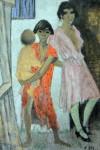Живопись | Otto Mueller | Stehende Zigeunerkinder, 1927
