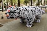 Стрит-арт | Агата Олек | Gato Negro Gato Blanco | Barcelona, Spain 2012