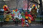 Стрит-арт | Агата Олек | Tompkins Square Park | NYC 2012